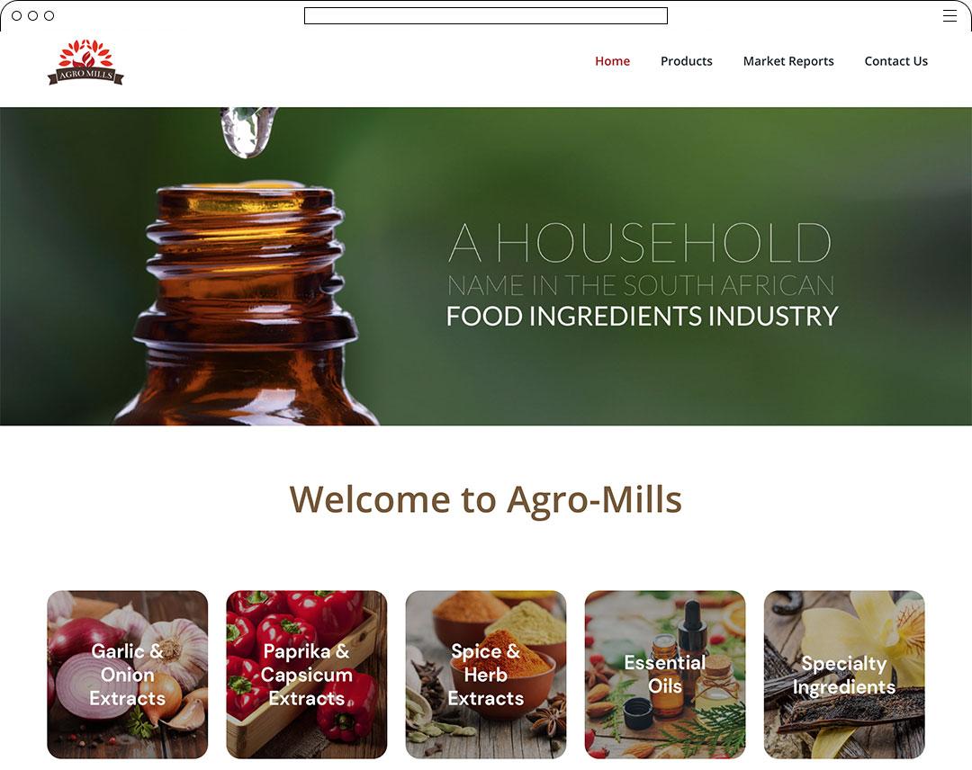 Agro-Mills-Website