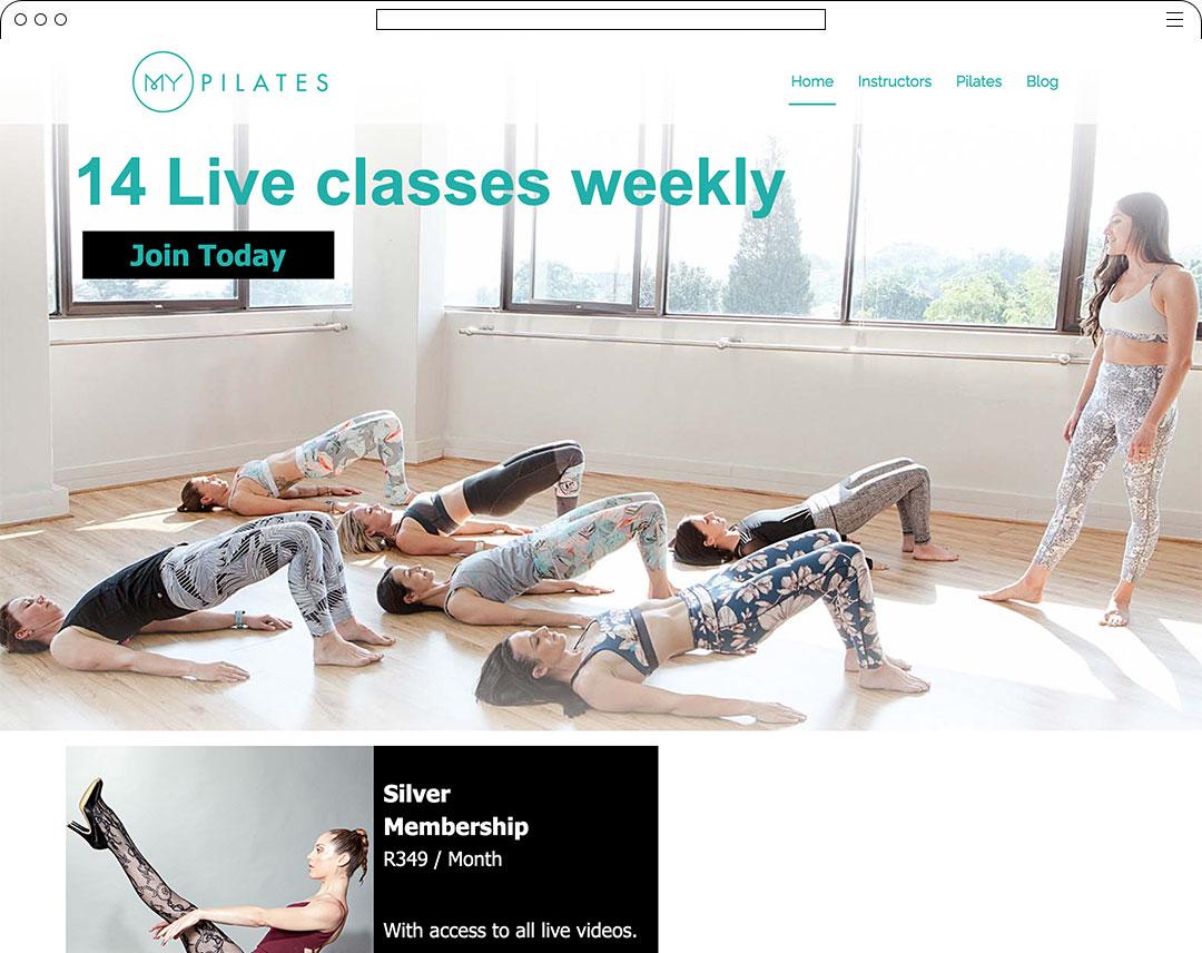 My-Pilates-Website